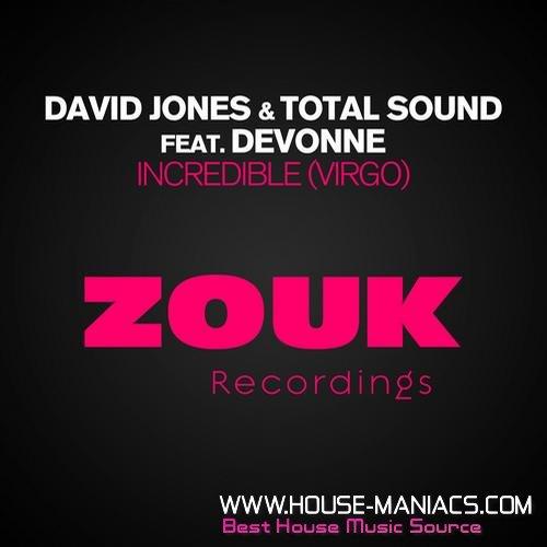 Incredible Virgo David Jones & Total Sound Devonne remix never miss the beat