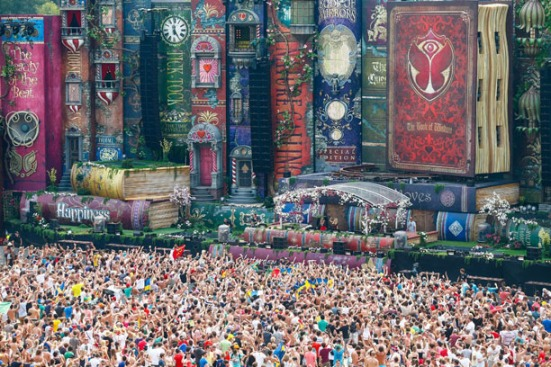 Live Sets Tomorrowland never miss the beat