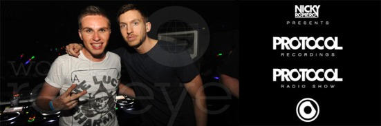 Iron Calvin Harris Nicky Romero never miss the beat
