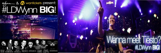 Wantickets Giveaway 4 All-Access Passes Labor Day Weekend Chance To Meet Tiesto never miss the beat
